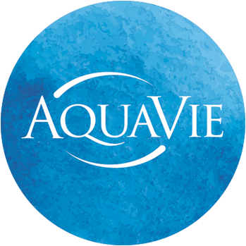 AquaVie Sticky Logo
